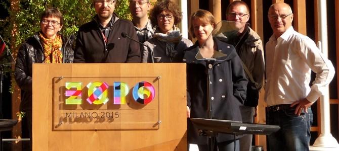 Sept professeurs de l'académie de Caen sont allés présenter leurs séquences d'apprentissage « nourrir les hommes » à l'expo universelle de Milan