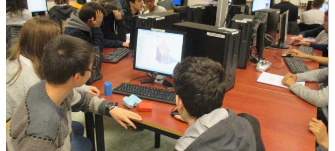 Application du projet EAThink en mathématiques au Lycée Dumont d'Urville de Caen