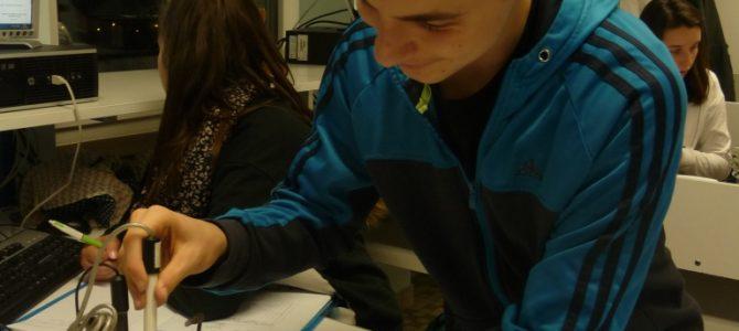Septième séance du projet sur « L'eau potable » au lycée des Andaines !