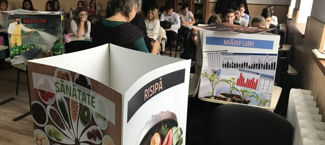 "Expozitia ,,Un nor de alimente"" la Colegiul Economic din Buzău (II)"