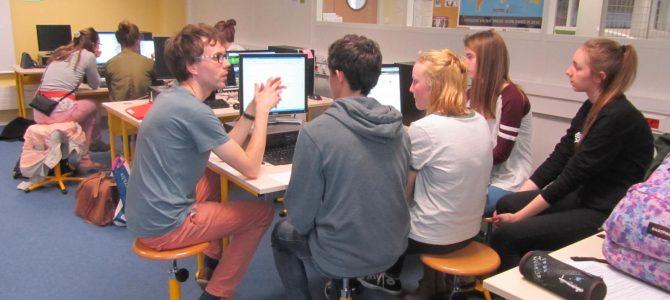 (Français) Dernière séance web-journalisme au lycée Allende !