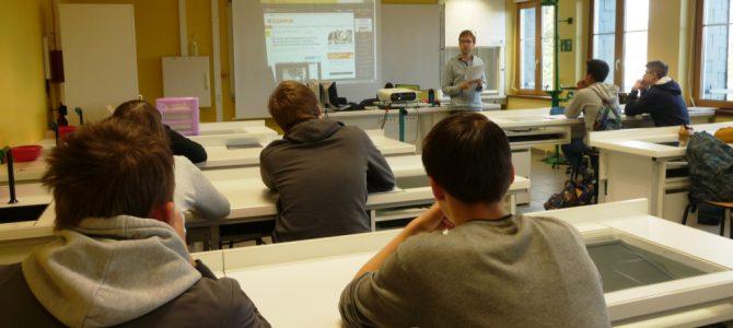 Formation au web-journalisme citoyen au lycée des Andaines !