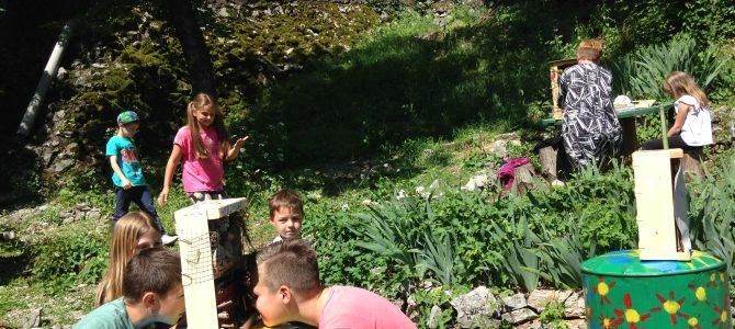 S učenicima smo izradili hotel za kukce za školski vrt na Veprincu