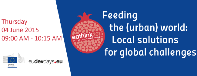 EAThink2015 at European Development Days!