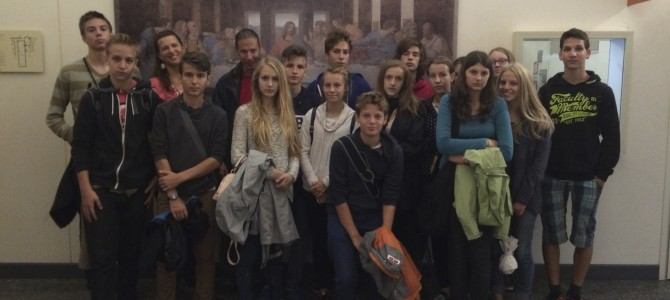 Hungarian School Delegation in Milan