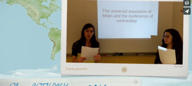 Video – French pupils' presentations about algae and spirulina