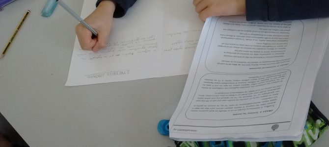 Τα παιδιά του Δημοτικού Σχολείου Λυκαβηττού  Κ. Β' μαθαίνουν για τη φτώχεια και την πείνα