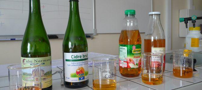 Troisième séance « De la pomme au cidre » au lycée des Andaines !