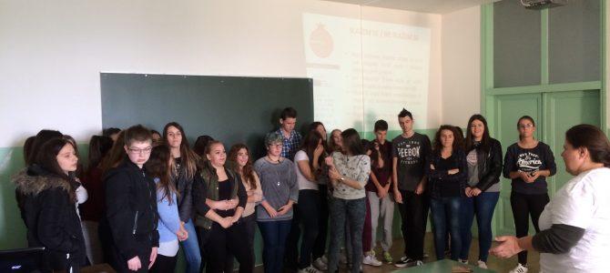 Radionica u Ekonomskoj školi Mije Mirkovića