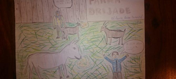 Učenici iz OŠ Čavle u stihovima prenose dojmove s Farme Drijade