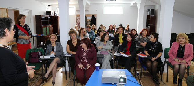 Teachers' Tutoring: Regional Seminar for Schools from Buzău County