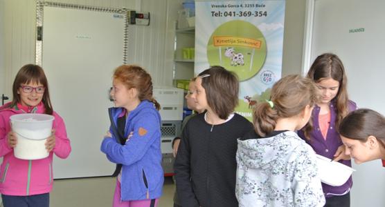 (Slovenian) Kako nastanejo mlečni izdelki?