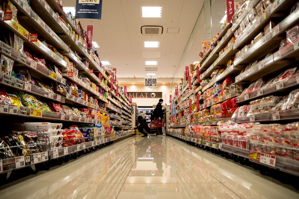 Foto Scaffali Supermercati.Scaffali Supermercato Eathink
