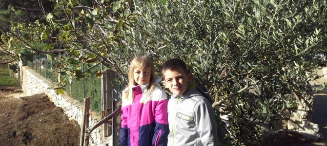 Učenici s Lošinja na Cres – terenska nastava EOPG-u Kučić