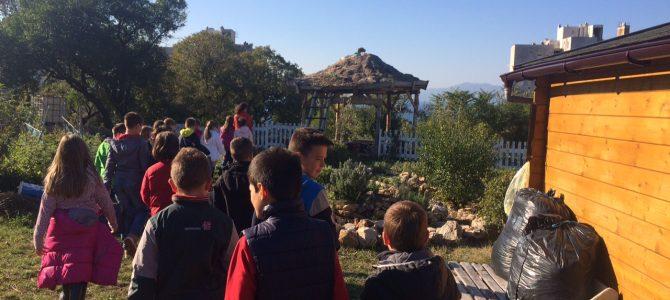 Terenska nastava u Dječjem urbanom vrtu Dolčić