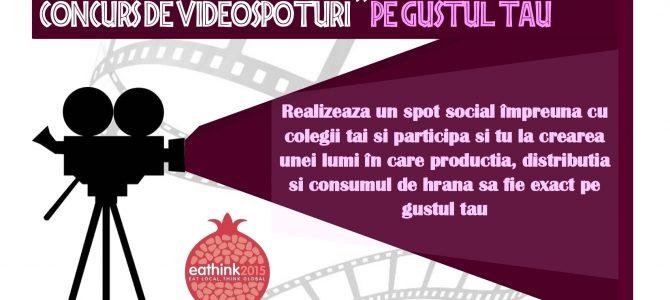 """(Română) Concurs de spoturi video """"Pe gustul tău"""""""