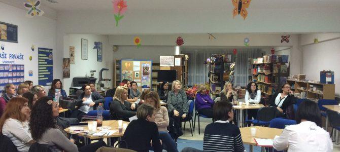 Podrška učiteljima i informiranje o nadolazećim projektnim aktivnostima