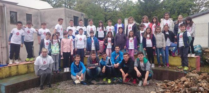 Radna akcija uređivanja školskog vrta OŠ Čavle