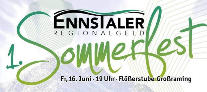 Erstes EnnsTaler Sommerfest von HLW Steyr mitveranstaltet