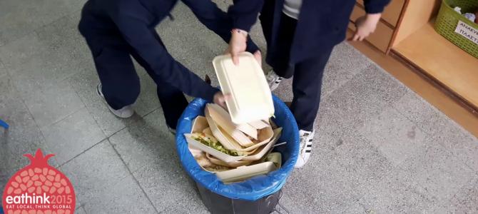 """""""Ας σταματήσουμε τη σπατάλη τροφίμων!"""" από το Στ' Δημοτικό Λεμεσού"""