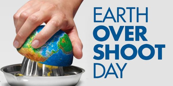Earth  Overshoot Day 2017 –  #movethedate campaign