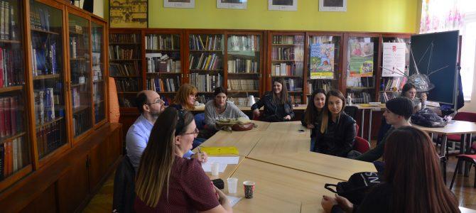 Posjet evaluatora projekta Gimnaziji Andrije Mohorovičića u Rijeci