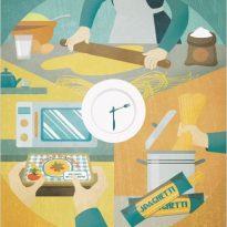 Le abitudini alimentari nello spazio-tempo
