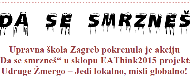 """Učenici Upravne škole Zagreb imaju činjenice o hrani """"da se smrzneš"""""""